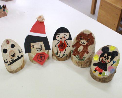 富士山の麓の間伐材で森の妖精「トントゥ人形」を作ろう!おやまに泊まろう「おやまステイ」大募集!写真