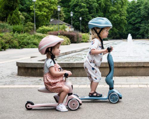 1歳のお子様から楽しめるキッズスクーター スクート&ライド試乗コーナー写真